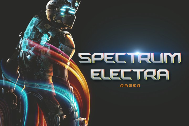 Razer - SciFi Game Font