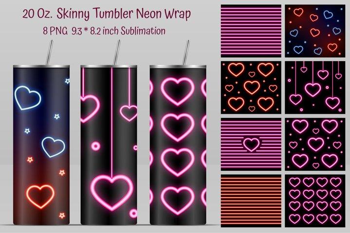 Skinny Tumbler design. Tumbler Design. 20 Oz. Skinny Wrap.