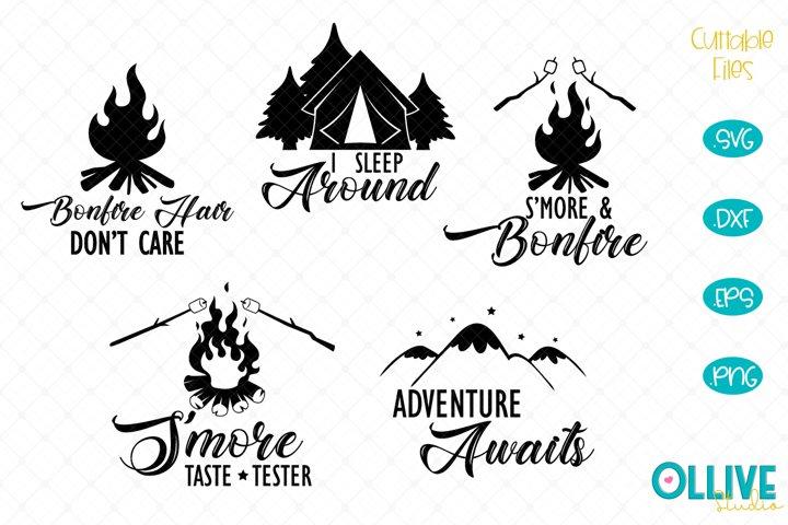 Bonfire Camping Quotes SVG