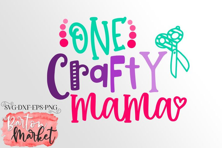One Crafty Mama SVG DXF EPS PNG example 1