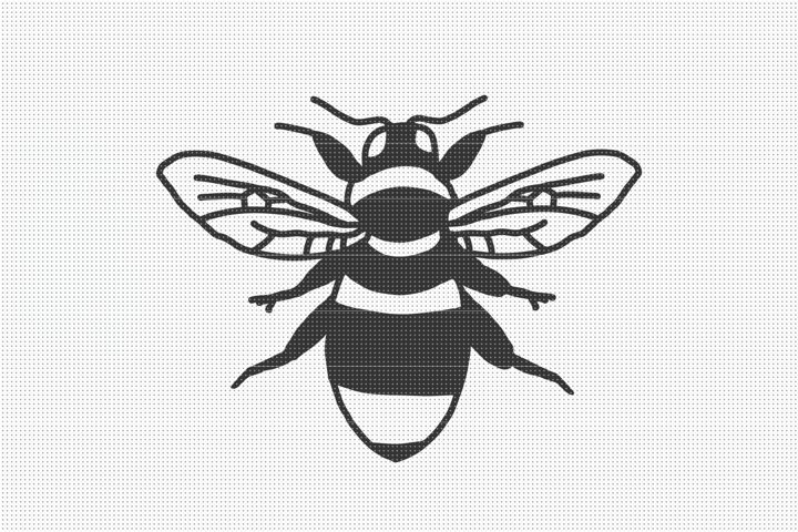 Bumble Bee SVG Files, SVG Cut Files, Bumblebee SVG