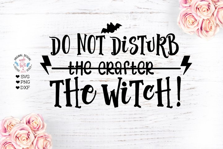 Do not disturb the crafter the witch