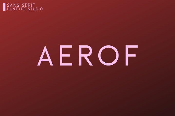 Aerof Sans Serif
