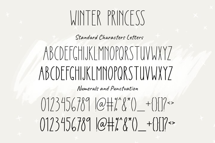 Winter Princess | Regular & Bold Style - Free Font Of The Week Design2