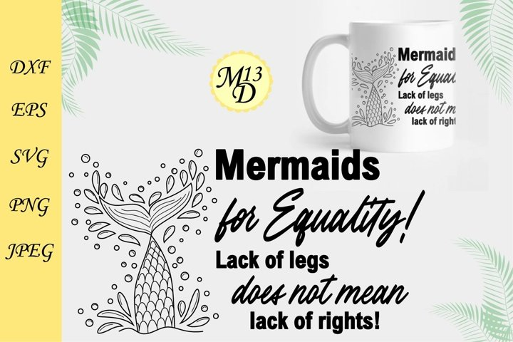 Quote about mermaid and the tail of a mermaid