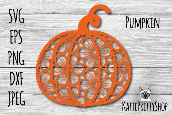 Pumpkin svg, fall cut file, autumn svg