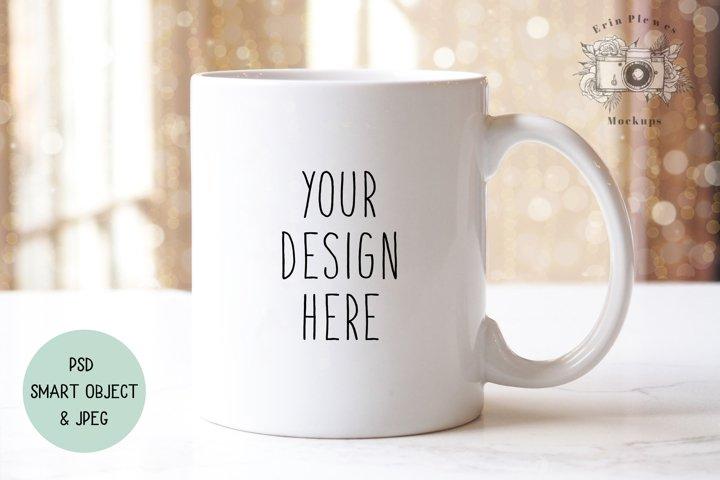 Mug Mockup | Coffee Mug Mock-up | Jpeg PSD Smart Object