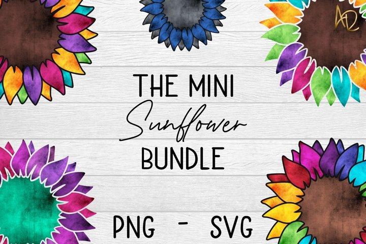 The Sunflower Mini bundle   Sublimation & Vinyl PNG SVG