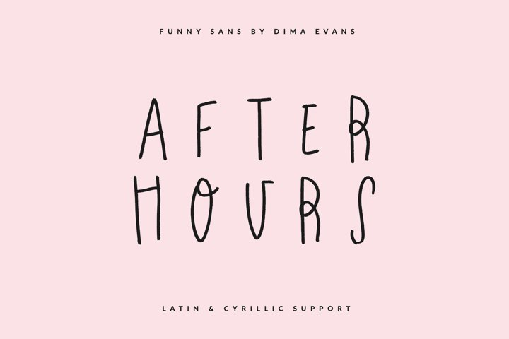 After Hours Latin & Cyrillic