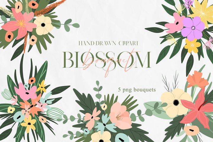Floral Bouquet Clipart