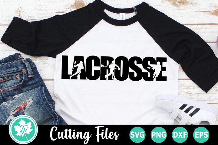 Lacrosse - A Sports SVG Cut File
