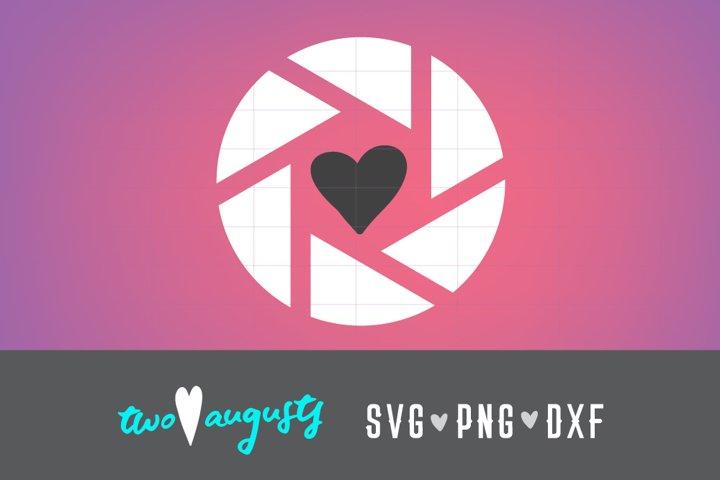 Shutter Love, photography, photog, mom, shutter, heart, SVG