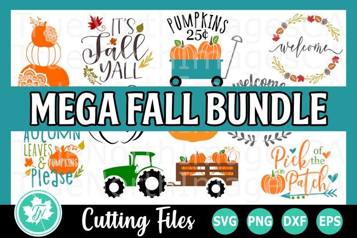 Mega Fall Bundle - SVG Cut Files