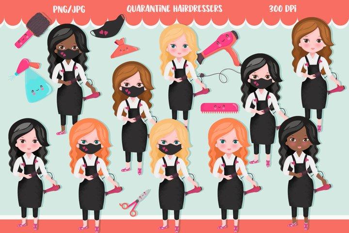 Hairdresser quarantine