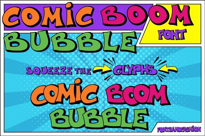 Comic Boom Bubble