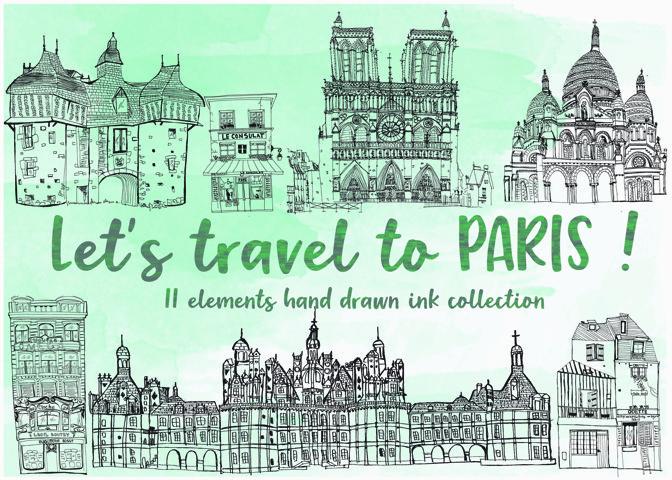 Lets Travel To Paris!