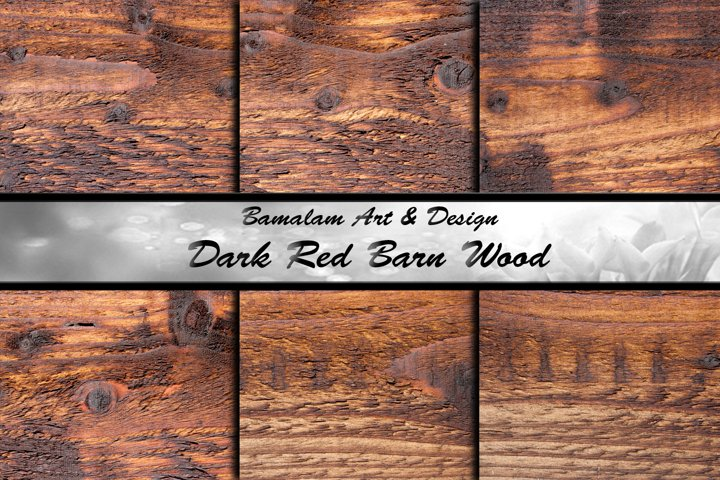 Dark Red Barn Wood Textures