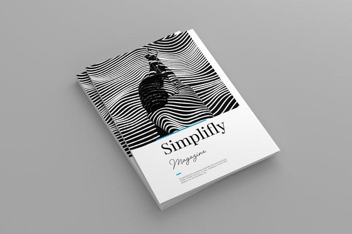 Simplifly Magazine Template