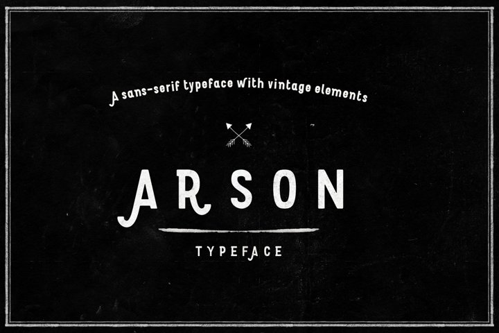 Grunge fonts Bundle example 5