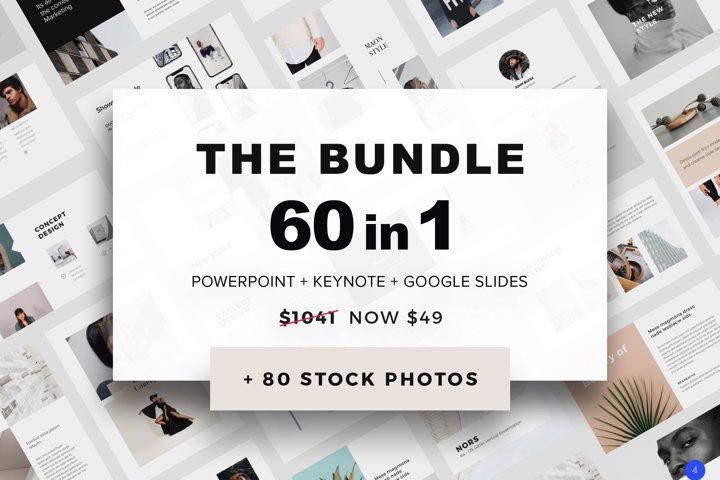 The Bundle 60 Templates - 80 Photos FREE Updates