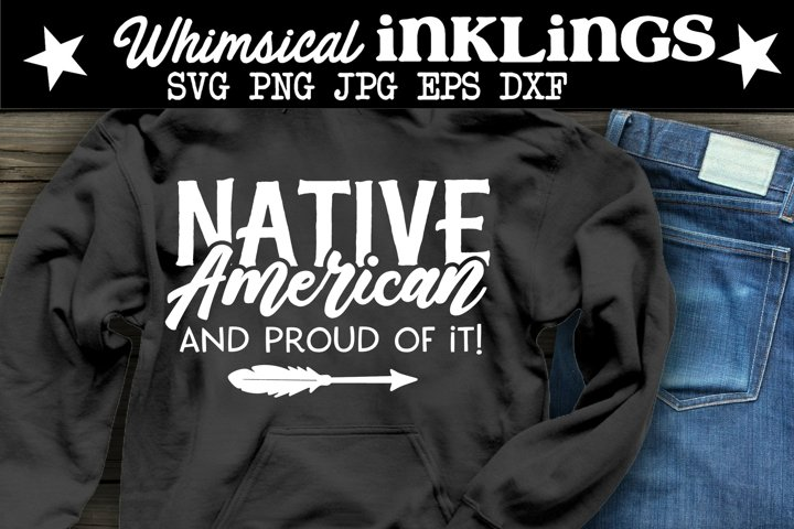 Native American SVG