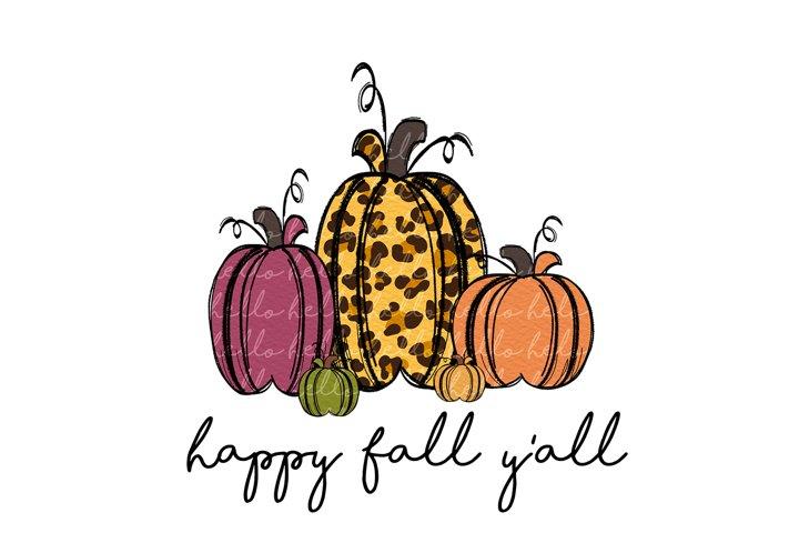 happy fall pumpkins