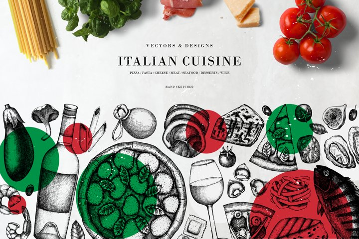 Italian Cuisine Designs Collection