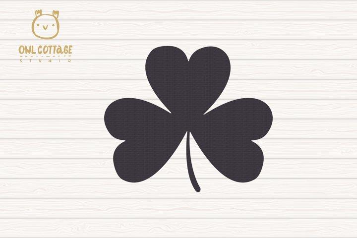 St. Patricks day svg, Clover Leaf, Clover Leaf Tattoo example 4
