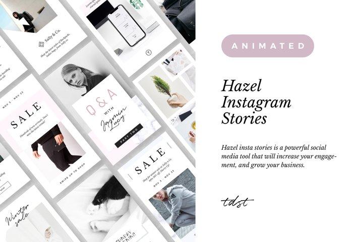 Hazel - Minimal Animated Stories
