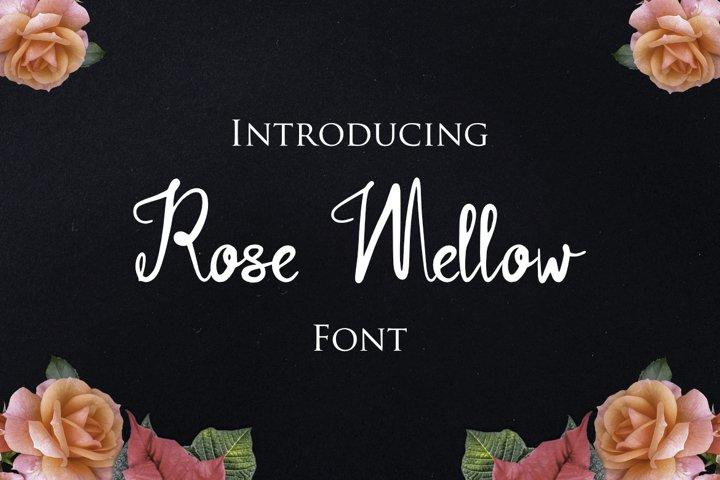Rose Mellow Font