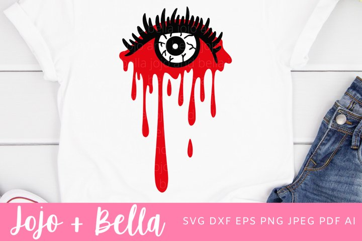 Halloween SVG | Eyeball SVG | Blood SVG