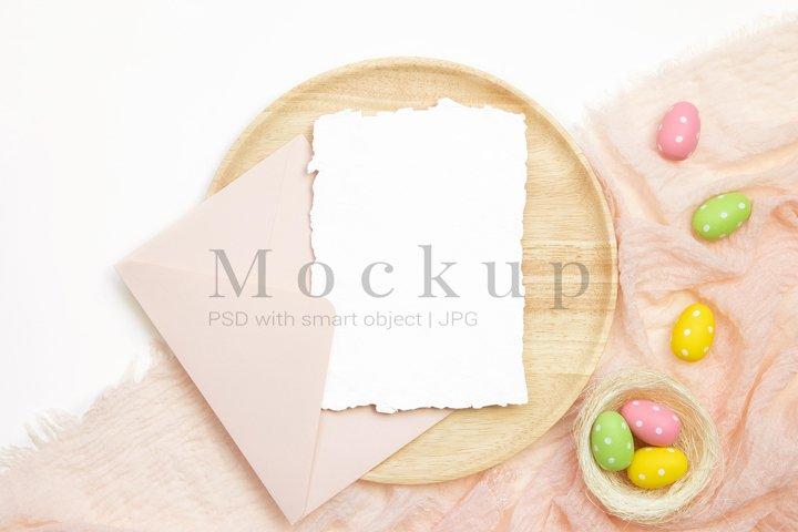 5x7 Card Mockup,Holiday Mockup,Easter Card Mockup