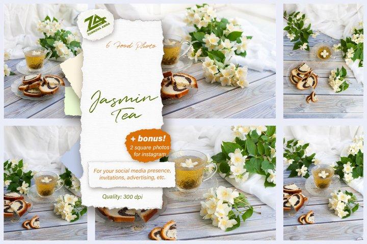 Jasmine Tea with poppy seed pie Bundle & BONUS!