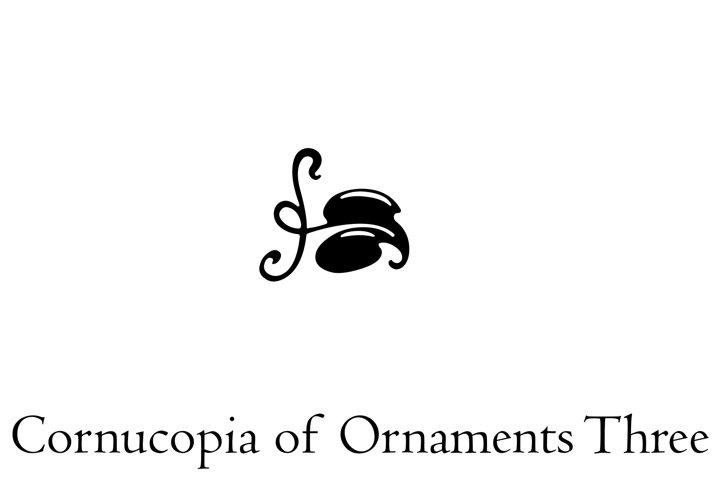 Cornucopia of Ornaments Three