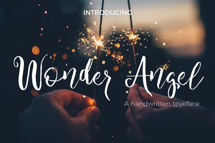 Wonder Angel Script Font
