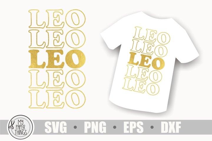 Leo Zodiac sign svg, Birthday svg, Horoscope svg