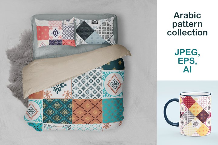 Arabic pattern collection