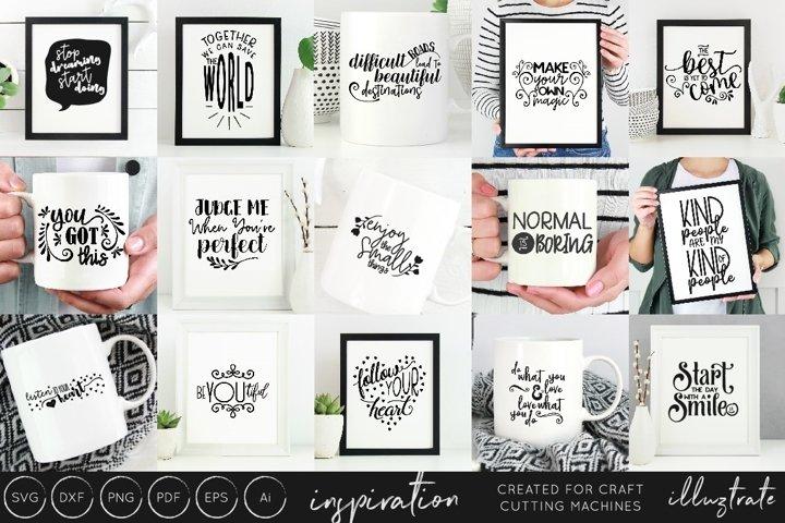 Download Inspirational Quotes Svg Cut File Bundle Design Collection Free Design Of The Week Design Bundles