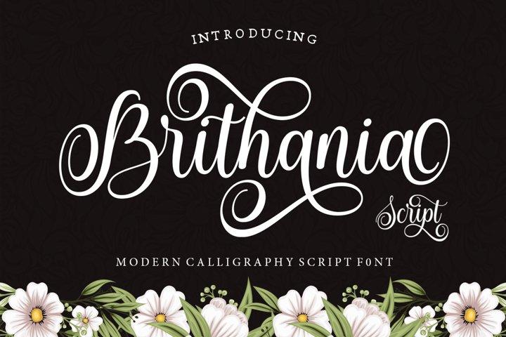 Brithania Script