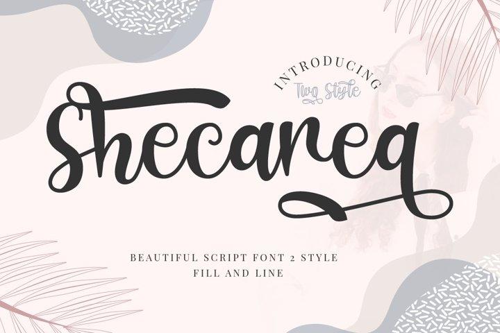 Shecarea - Beautiful 2 Style Script