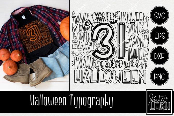 Halloween Typography