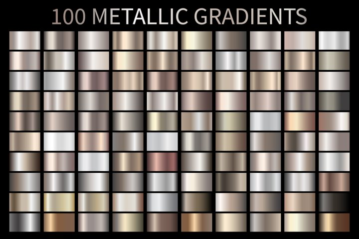 Metallic Bronze Gradients AI GRD ESP