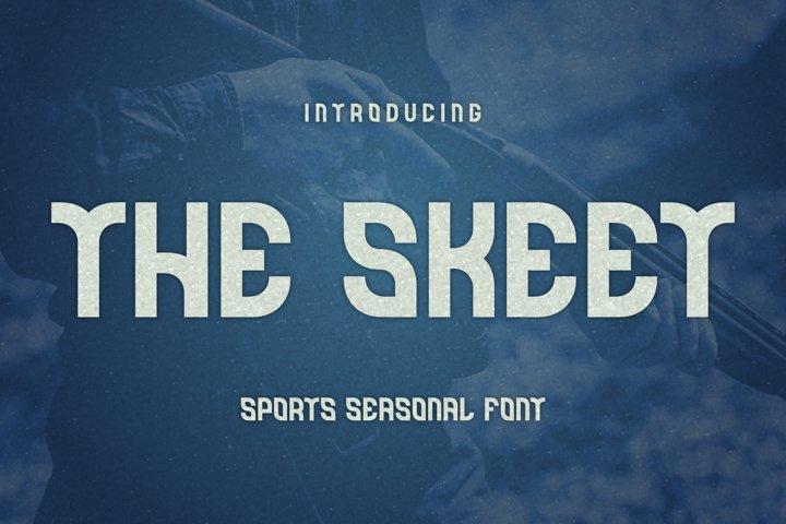 The Skeet Font