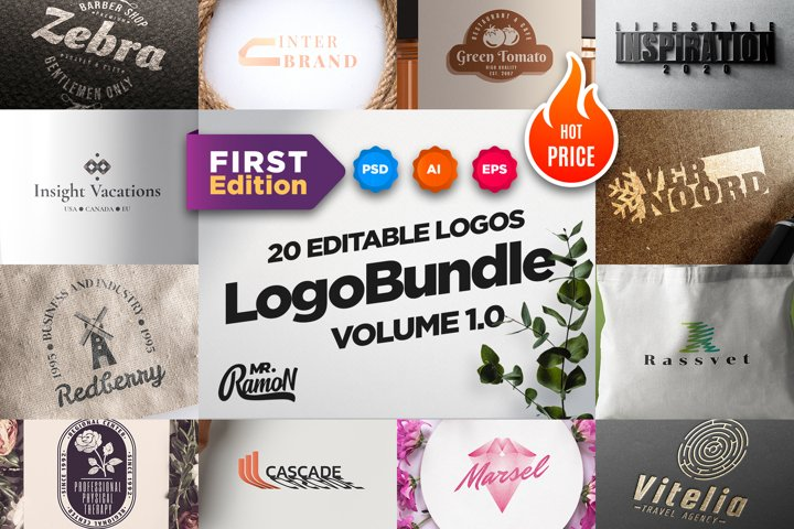 Logo Bundle. Volume 1.0. First Edition