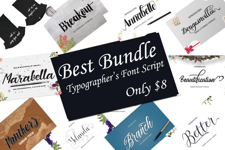 BEST FONTS BUNDLES