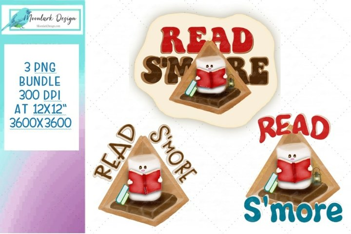 Read SMore Bundle Smores PNG for sublimation