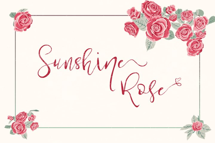 Sunshine Rose