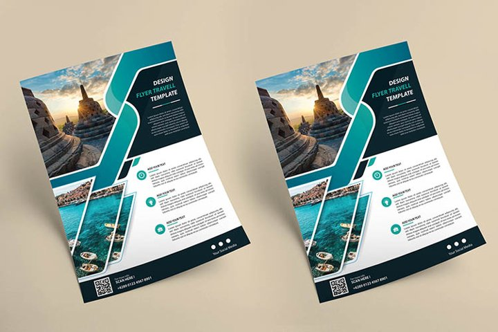 flyer template for cover annual report