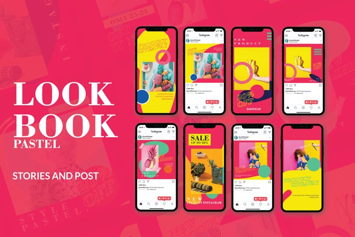 Lookbook Pastel Instagram