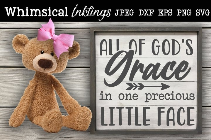 All Of Gods Grace-Baby SVG